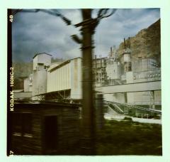 Industrial Post-Apocalypse. Camera: Holga 120. Film: Kodak 160NC.