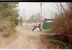 looking at thing | abandoneds. camera: FED 2. film: kodak color. location: dacha druzhba 5.
