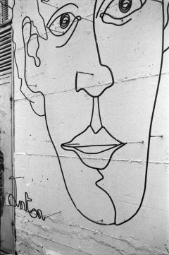 Street Art Tel Aviv, Nikon F100, Kodak Tri-X 400 @ 400, Rodinal