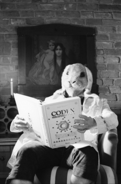 The People of the Book: Codex Seraphinianus. - Nikon FE2, Nikkor 50mm 1:1.4, Rollei Retro 80s, Rodinal.