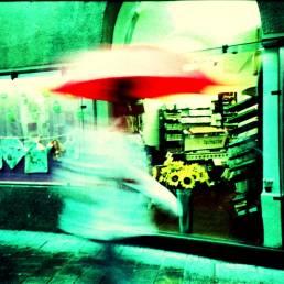 Coffee Rain. Camera: Lomo LC-A. Film: cross processed.