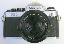 Nikon FE2 35mm Film Photography Camera