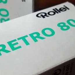 Rollei Retro 80S Black and White Film